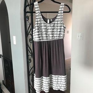 Anthropologie (Eloise) Ruffled Dress